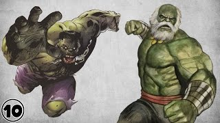 Top 10 Alternate Versions Of The Hulk