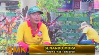 Inspiring story of a Filipino Street Sweeper