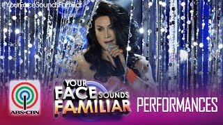 "Your Face Sounds Familiar: Edgar Allan Guzman as Toni Gonzaga - ""Catch Me I"