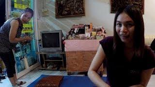 おっさんの一人旅 VIETNAM-46 タイ、ラオス、ベトナム旅行 チェンライの夜 #02 食事と魅惑?のタイマッサー。