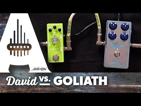 Tone City Kaffir Lime VS Xotic Soul Driven Overdrive Pedal