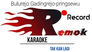 Takkan Lagi- Rhoma irama _# Karaoke Remok Record