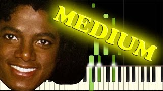 MICHAEL JACKSON - ROCK WITH YOU - Piano Tutorial