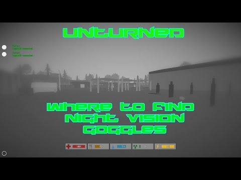 Unturned: Where To Find Night Vision Goggles