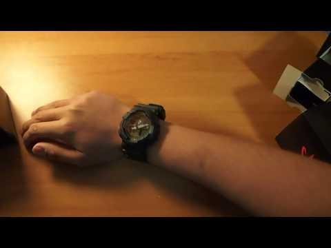 Лазерный часы касио