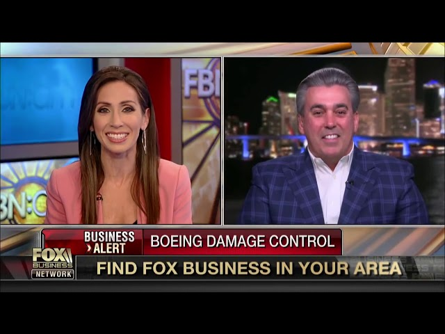 Tom Maoli Fox News Interview 3/15/19 How can Boeing fix its reputation