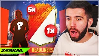 I Spent 180,000 FIFA Points on HEADLINERS Packs! (FIFA 20 Pack Opening)