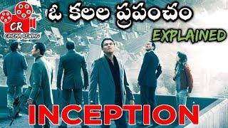 Inception Movie Explained In Telugu    Inception Movie Telugu Explanation    Cinema Rewind