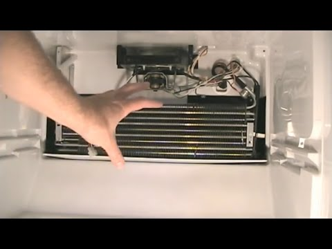 How To Replace The Defrost Thermostat In A Refrigerator And Defrost