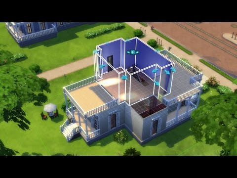 Sims 4: How To Build A House Step By Step   (Sims 4 Build A House Step By  Step)   PARODY