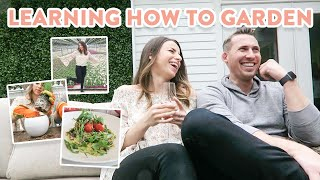 Learning how to Garden + Spring Target Shopping