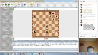 Шахматный блиц на Шахматной Планете и chess.com: первый стрим с чатом