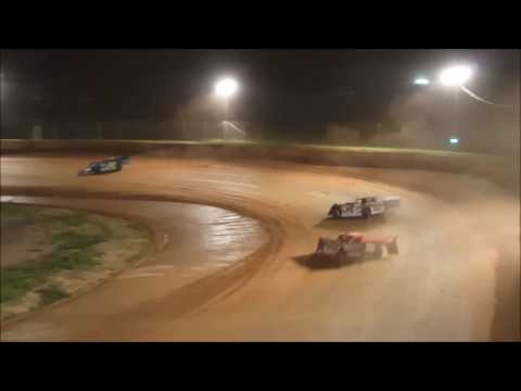 Late Model 1st Feature - Wartburg Speedway 8-13-16 - Flagstand Footage