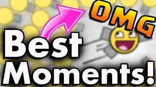 CRAZIEST DIEP.IO BEST OF MOMENTS! | INSANE HACKS / MODS / WORLD RECORDS ON DIEP.IO! (Best Bits)