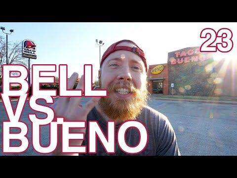 Taco Bell vs. Taco Bueno | Vlog Challenge Ep. 23