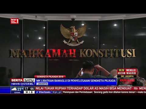 MK Libatkan Bawaslu Di Sidang Sengketa Pilkada