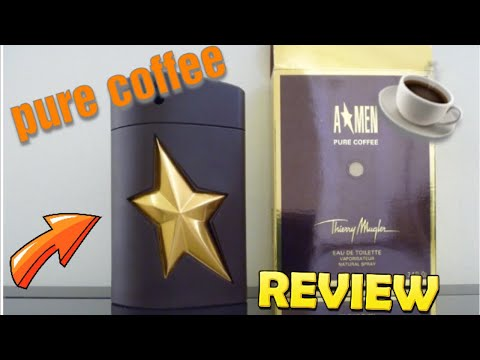 Thierry Mugler A*Men Pure Coffee Review! ☕️☕️☕️