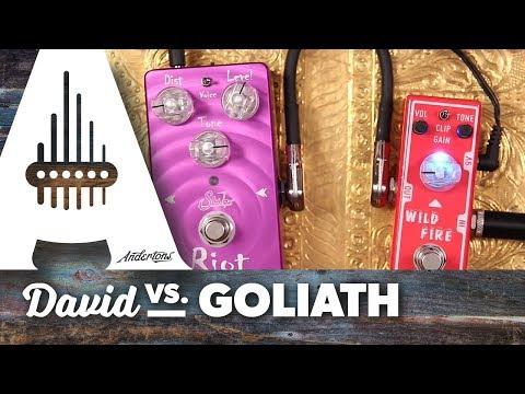 David vs. Goliath - Tone City Wild Fire vs. Suhr Riot Reloaded