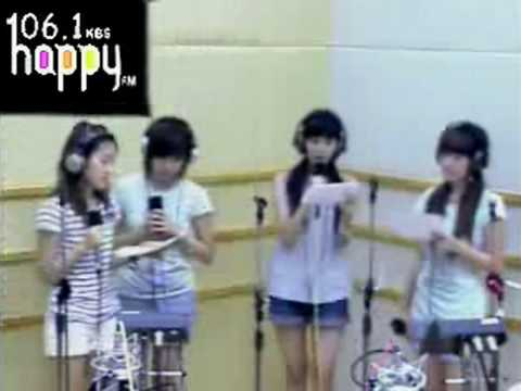 SNSD - Because I'm a girl (KISS) @ FM Inkigayo Aug20.2007 GIRLS' GENERATION Live