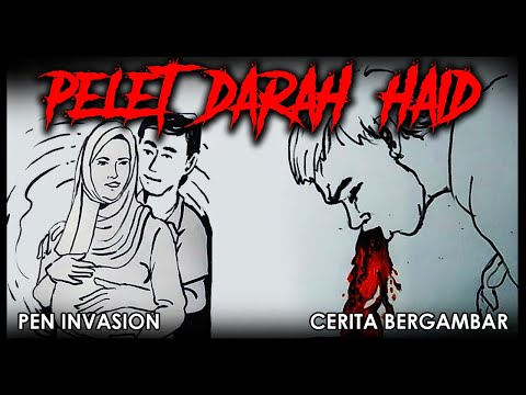 PELET DARAH HAID - Cerita Gambar - Cerita Bergambar