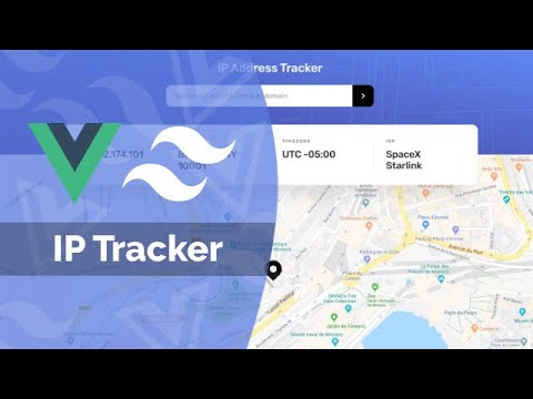 Build a IP Tracking App With Vue 3, Tailwind CSS & Leaflet.js (Composition API)
