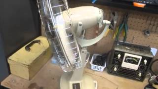 1970s Revelair Gyromatic fan