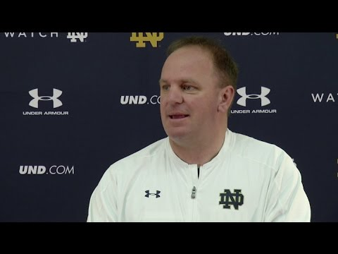 Notre Dame Football - Mike Elko Press Conference