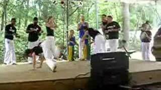 Capoeira dance and martial arts of brazil