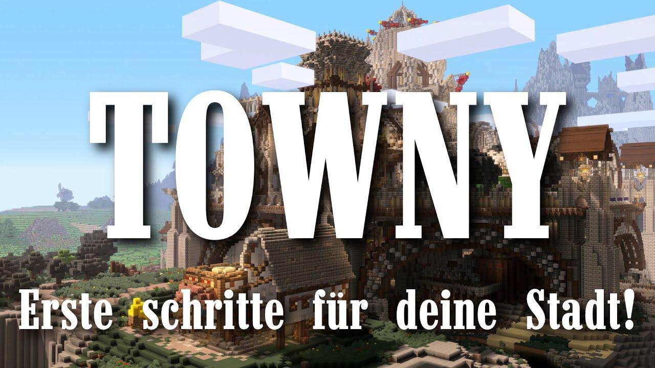 Towny Erste Schritte Für Deine Stadt Bukkit Server Plugin - Minecraft server erstellen schritt fur schritt