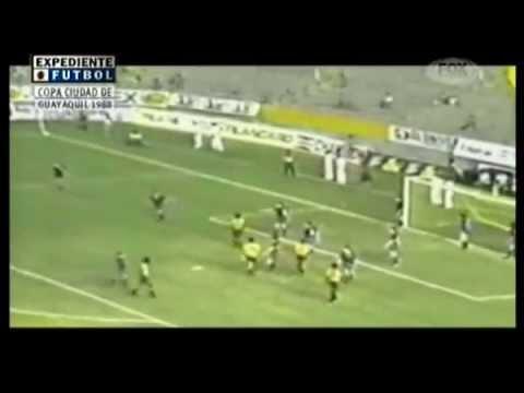 Resumen Barcelona SC vs FC Barcelona - Partido Amistoso 1988