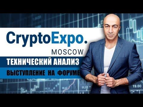 CRYPTO EXPO MOSCOW 22.05.18  ТЕХНИЧЕСКИЙ АНАЛИЗ