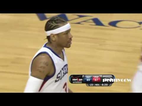Allen Iverson All Three Pointers Full Highlights 2009/2010 NBA Season