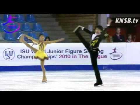 Wenjing Sui & Cong Han's Free Skate at 2010 Junior World Championships