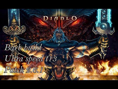 Diablo 3 RoS - Barb Diabeł Tasmański Build - Ultra Speed T13 (Patch 2.6.1)