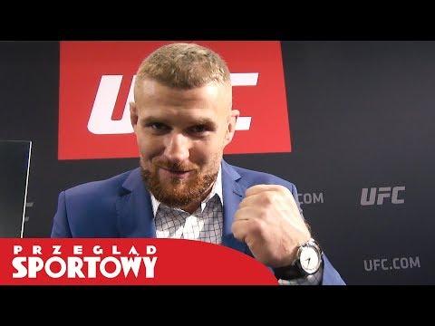 Jan Błachowicz Przed Walką Na Gali UFC W Gdańsku
