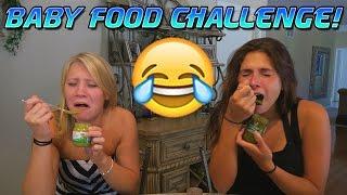FUNNY BABY FOOD CHALLENGE!!!