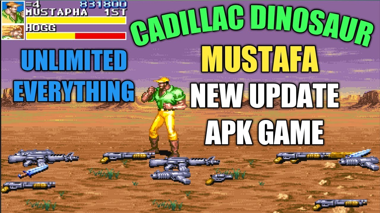 Cadillac dinosaur mustafa new update apk game any android device  #Smartphone #Android