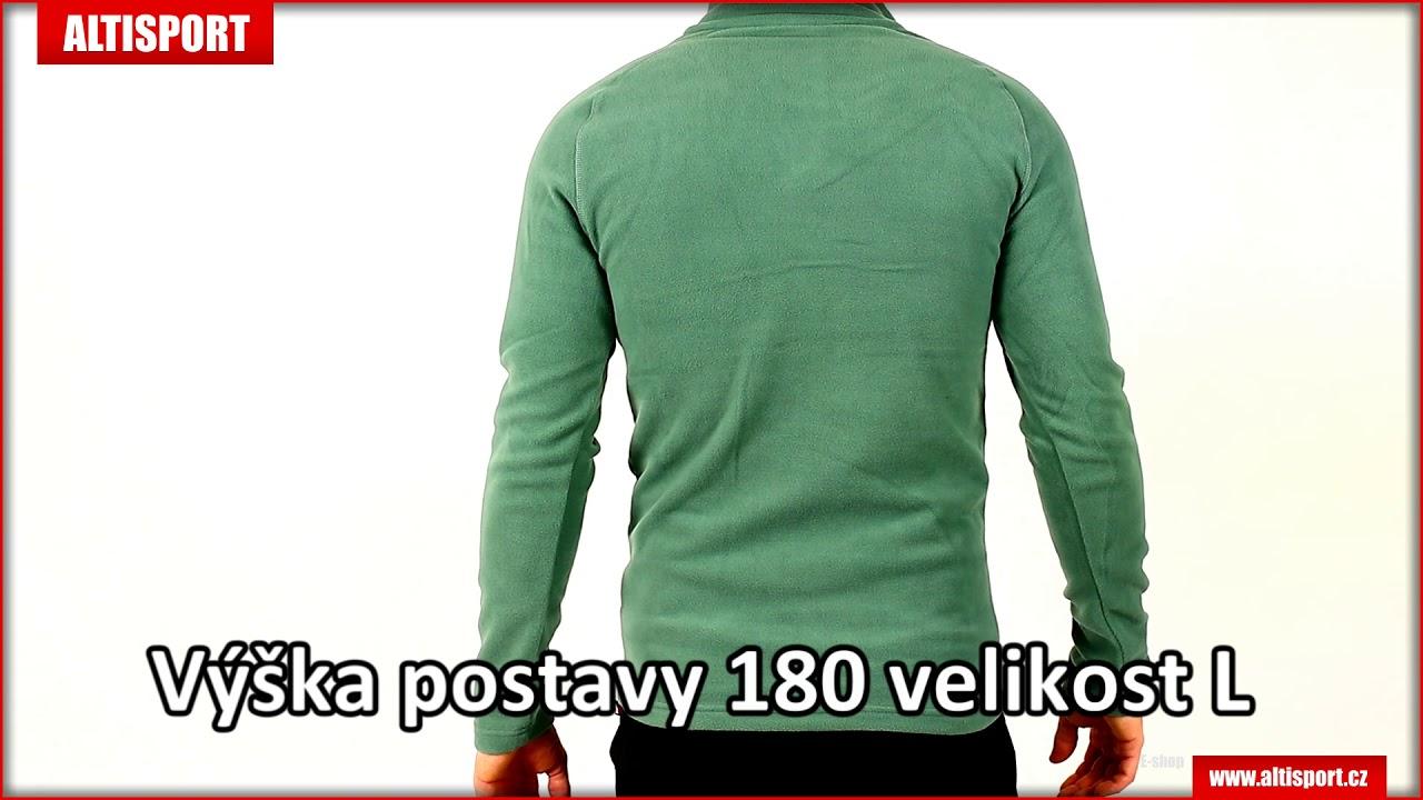 pánská fleecová mikina kilpi almagre m jm0144ki khaki - YouTube 1a96ec5427d
