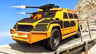 WORLD'S STRONGEST BATTLE TRUCK EVER! (Gta 5 DLC Funny Moments)