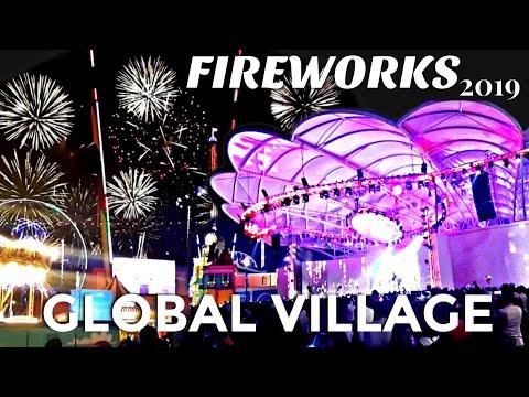 GLOBAL VILLAGE | AMAZING FIREWORKS 2019 | LIVE SHOW'S DUBAI