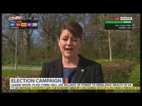 Leanne Wood on Plaid Cymru's manifesto launch, 31st March 2015
