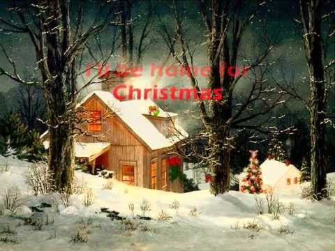 Martina mcbride i ll be home for christmas with lyrics
