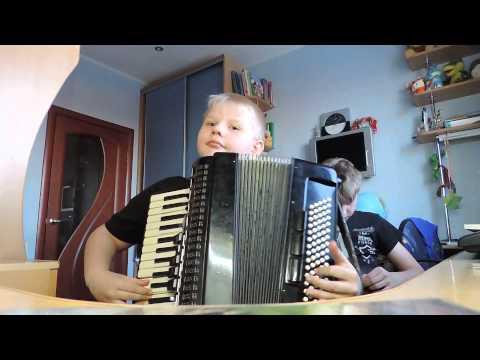 русская частушка на аккордеоне