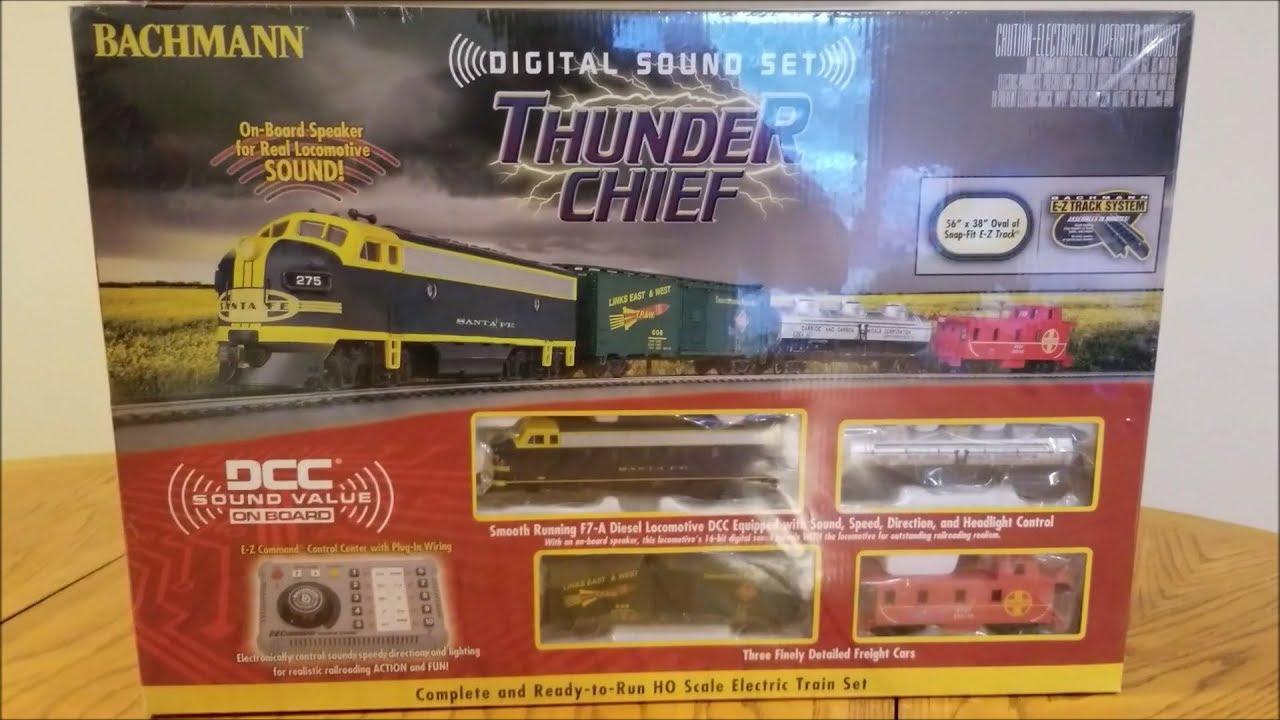 Best DCC & Sound HO Scale Model Train Starter Set!