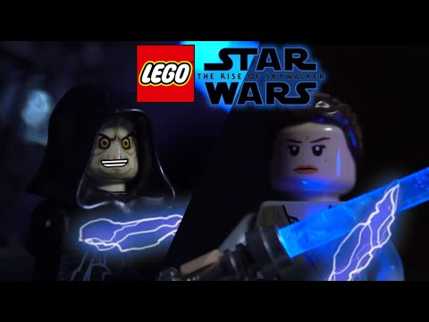 Lego Star Wars The Rise Of Skywalker Rey Vs Emperor Palpatine Youtube