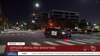 Officer-involved shooting at San Diego Police headquarters