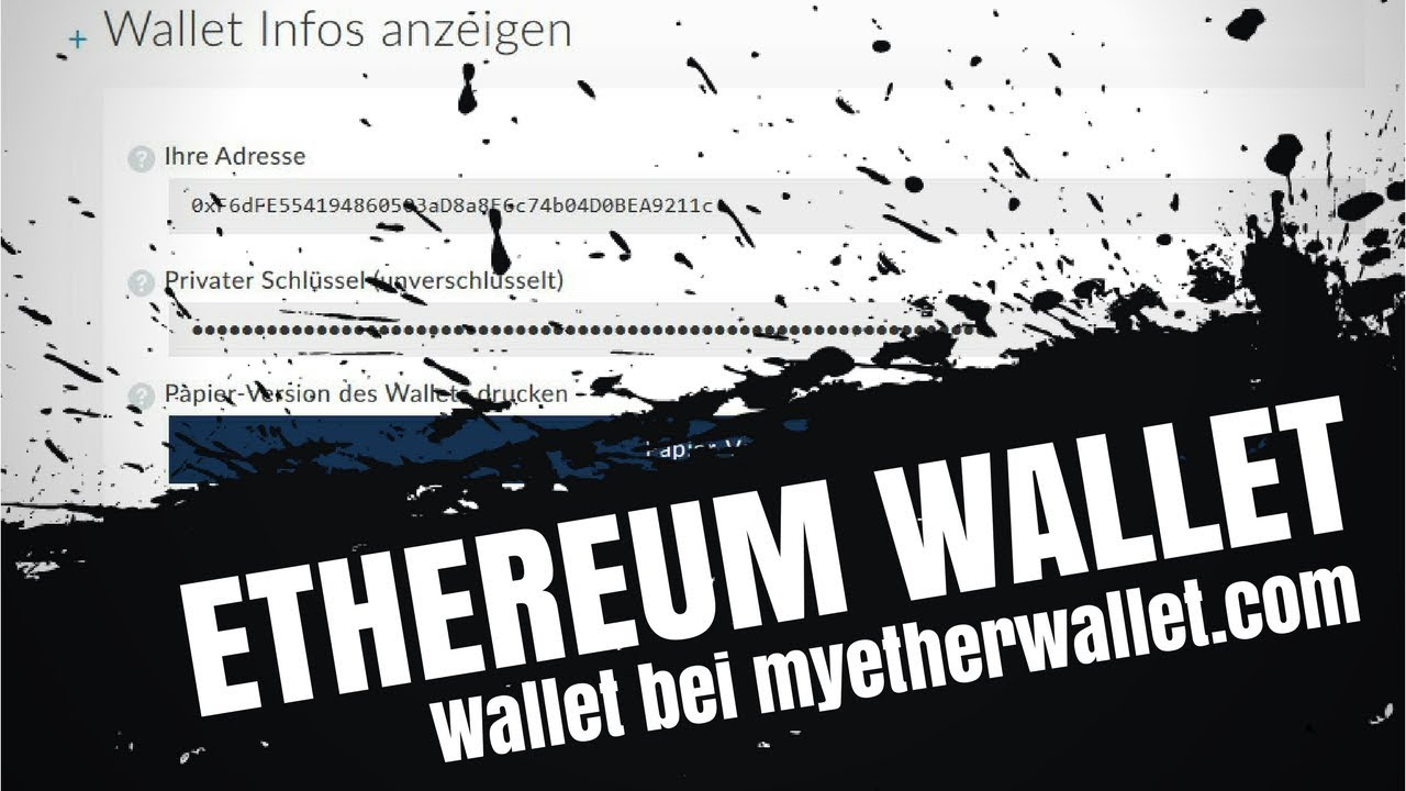 Eth Wallet Erstellen