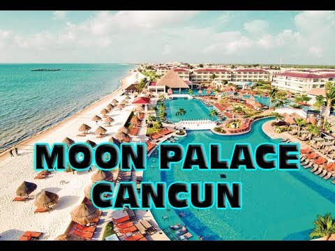 Moon Palace Cancun map tour - Pros & cons - YouTube