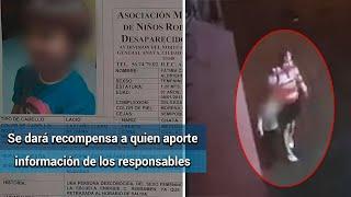 Fiscalía de la CDMX muestra el video en que se llevan a Fátima y ofrece 2 mdp por los asesinos