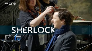 First week of filming with Mark Gatiss - Sherlock | Behind the Scenes - BBC One